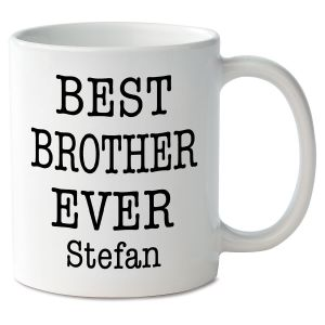Best Brother Ever Novelty Mug