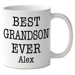 Best Grandson Ever Novelty Mug