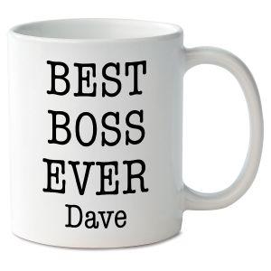 Best Boss Ever Novelty Mug