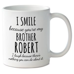 Smile Brother Novelty Mug
