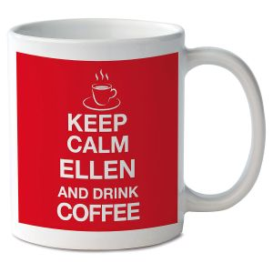 Keep Calm and Drink Coffee Novelty Mug
