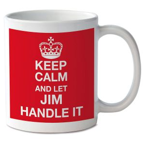 Keep Calm and Let Handle It Novelty Mug