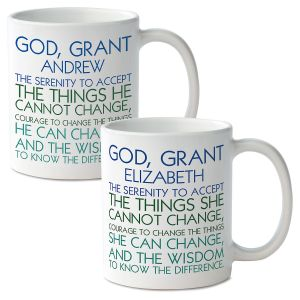 Serenity Prayer Custom Mugs