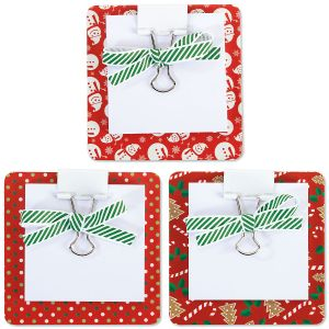 Christmas Coaster Notes - Buy 1 Get 1 Free