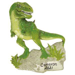 T-Rex Personalized Ornament