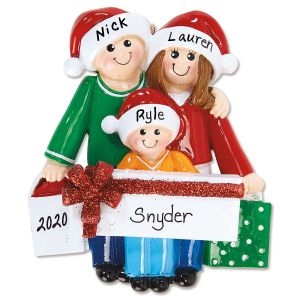 Gift Family Custom Ornament