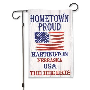 Hometown Proud Garden Flag