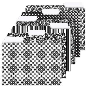 Elegant Black File Folders