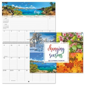 Changing Seasons Big Grid Planning Calendar 2021