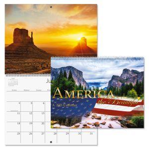 America the Beautiful Wall Calendar 2021