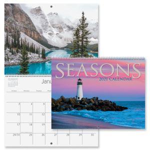 Seasons Wall Calendar 2021