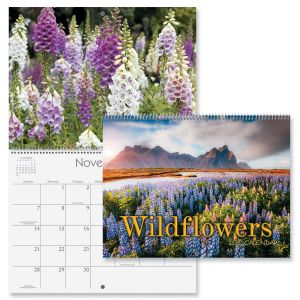 Wildflowers Wall Calendar 2021