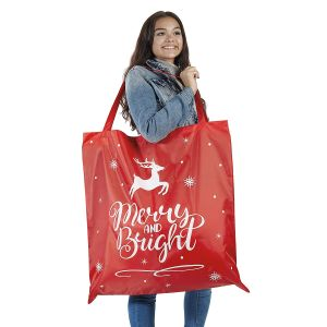 Christmas Tote Oversized