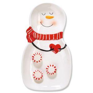 CandyDish Snowman