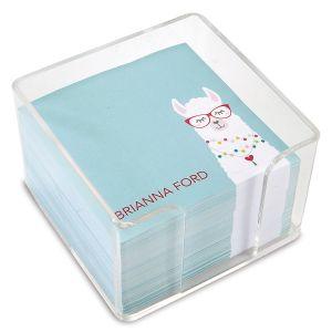 Simple Llama Custom Note Sheets in a Cube