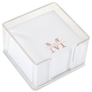Front & Center Custom Note Sheets in a Cube