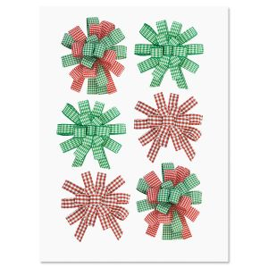 Holiday Sticker Bows
