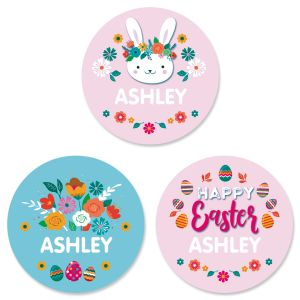 Custom Easter Variety Stickers