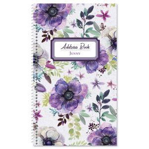 Violet Motif Lifetime Address Book
