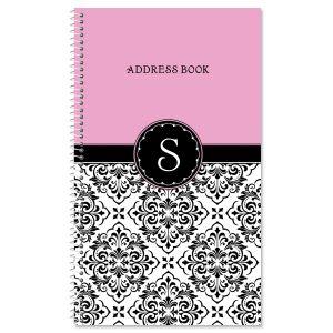 Vintage Damask Lifetime Address Book
