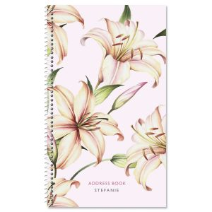 Peace Lily Lifetime Address Book