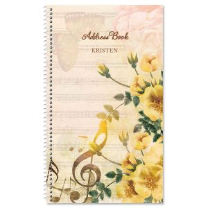 Music Note Lifetime Address Book