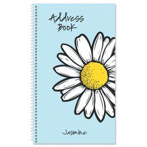 Textile Daisy Lifetime Address Book