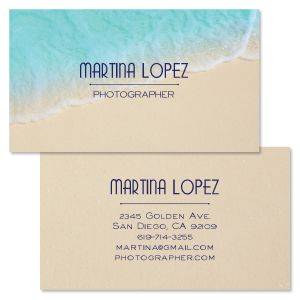 Blue Ocean Doubled-Sided Business Card