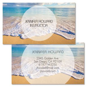 Shore Line Double-Sided Business Cards