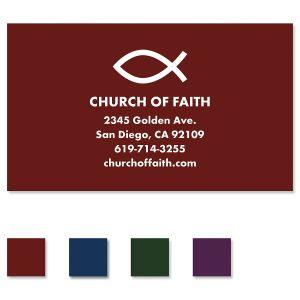 Simple Faith Standard Business Card