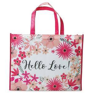 Hello Love Shopping Tote - Buy 1 Get 1 Free
