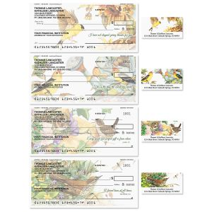 Serenade Single Checks With Matching Address Labels