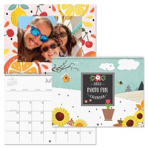 Photo Fun Scrapbooking Calendar 2021