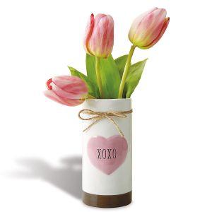 Heart Vase XOXO