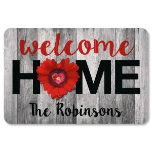 Custom Home & Heart Doormat
