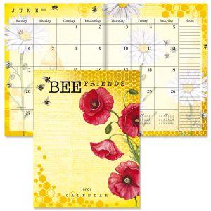 Bee Friends Desk Calendar 2021