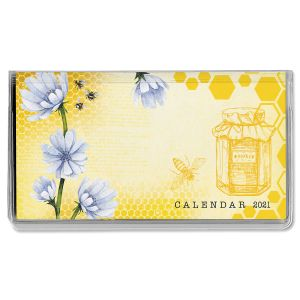 Bee Friends Pocket Calendar 2021