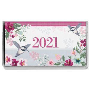 Painted Petals Pocket Calendar 2021