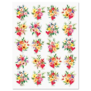 Painted Bouquet Stickers - Buy 1 Get 1 Free