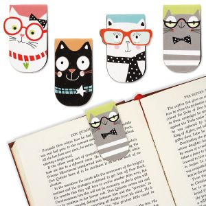 Smarty Cats Magnetic Bookmarks - Buy 1 Get 1 Free