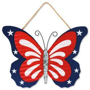 Patriotic  Butterfly Hanger