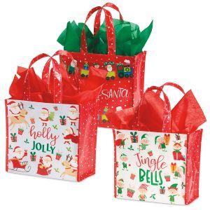 Santa's Helpers Cub Shopping Totes