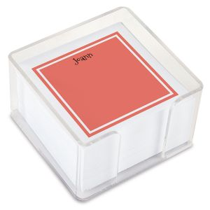 Color Trend Custom Note Sheets in a Cube (4 rotating colors)