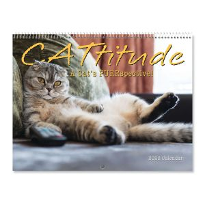 CATtitude 2022 Wall Calendar
