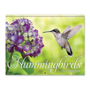 Hummingbirds 2022 Wall Calendar