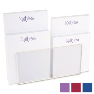 Elegant Custom Memo Pad Set
