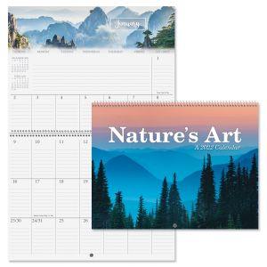 Nature's Art 2022 Big Grid Planning Calendar