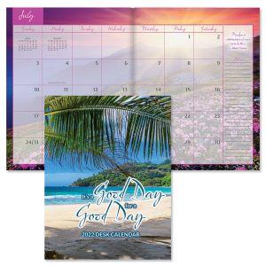 Good Day for a Good Day 2022 Desk Calendar