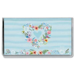 Daisy Wreath 2022 Pocket Calendar