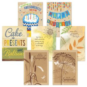 Kraft Assortment Value Pack Greeting Cards